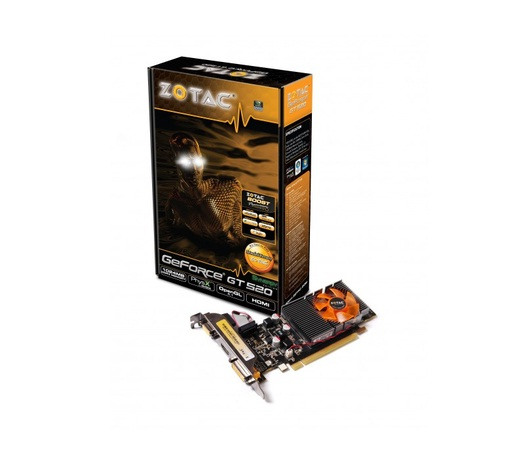 Placa de Vídeo GT 250 1024MB DDR3 Memory - Zotac-GeForce