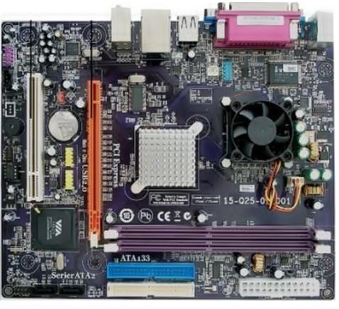Placa Mãe Via pc-1 PC3000E + Processador C7-D 1.6Ghz