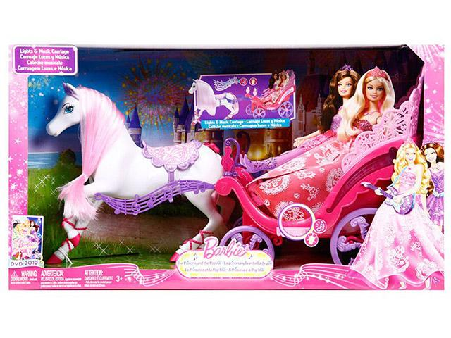 Carruagem Barbie a Princesa e a Pop Star - Mattel