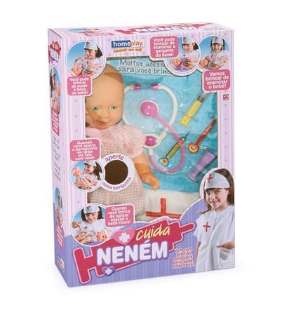 Boneca Cuida Nenem - Homeplay