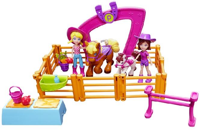 Boneca Polly Pocket Passeio a Cavalo - Mattel