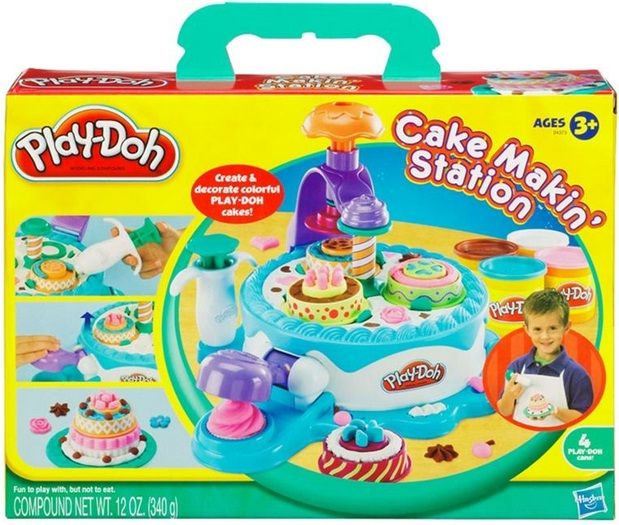 Massinha Play-Doh Playset Confeitaria - Hasbro
