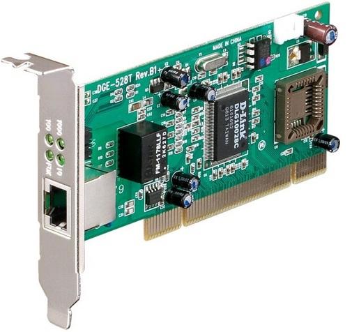 Placa de Rede D-Link DGE-528T PCI Gigabit 2000 Mbps