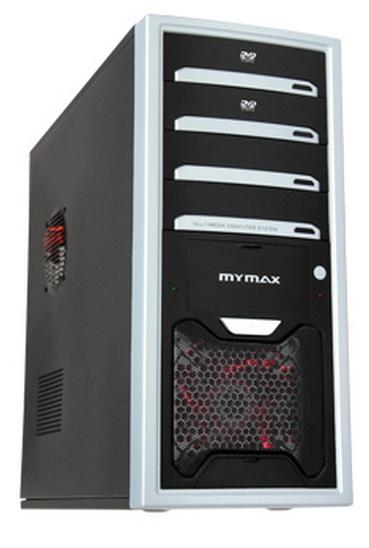 Gabinete ATX Scorpion Preto e Prata - Mymax