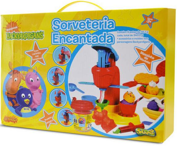Massinha Sorveteria Encantada Backyardigans - Sunny
