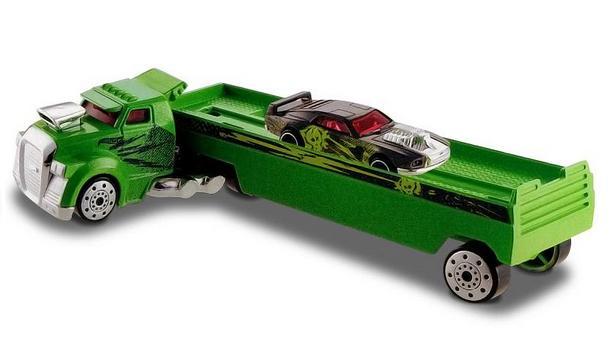 Caminhão Hot Wheels Truckin Transporters Fright Freighter - Mattel