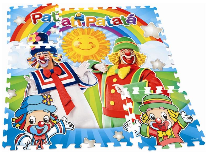 Tapete Estampado EVA Patati Patatá - Nig Brinquedos