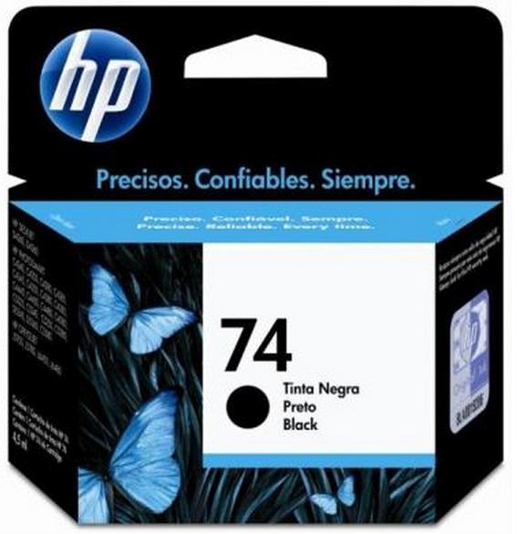 Cartucho de Tinta HP Original 74 Preto – HP