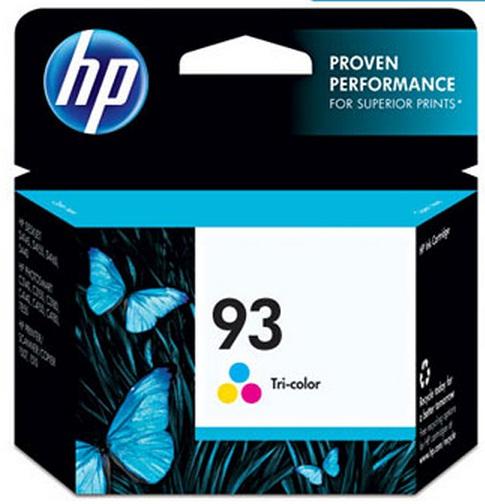Cartucho de Tinta Colorido HP 93 Original - HP