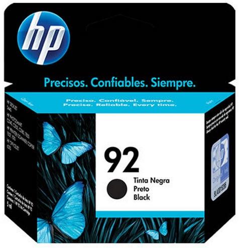 Cartucho de Tinta HP Original 92 Preto – HP