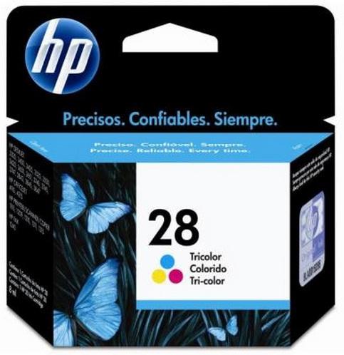 Cartucho de Tinta Colorido HP 28 Original - HP