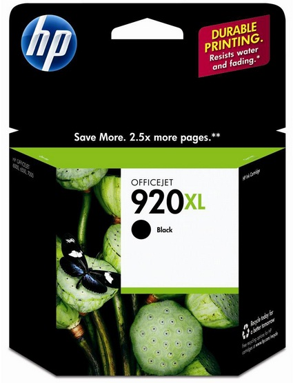 Cartucho de Tinta Preto HP 920XL - HP