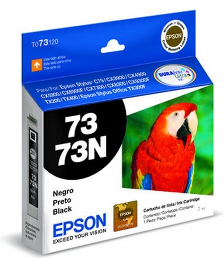 Cartucho de Tinta Epson 73N Preto Original - Epson