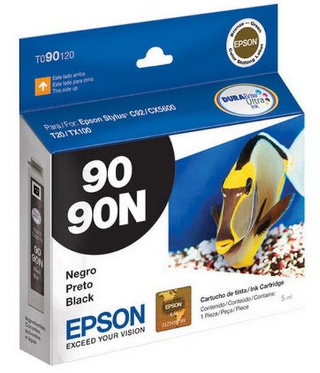 Cartucho de Tinta Epson 90N Preto Original - Epson