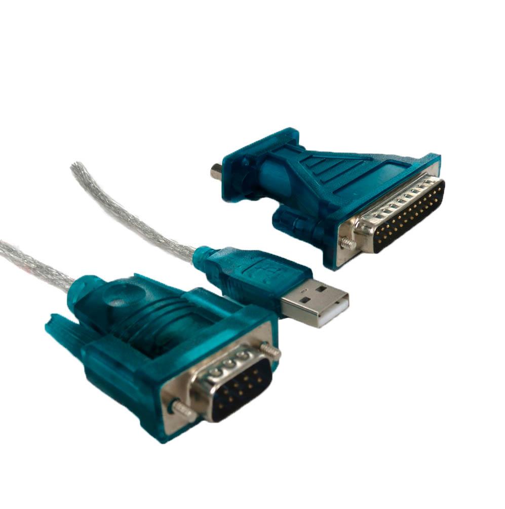 Cabo Conversor USB x Serial + Conversor - Integris