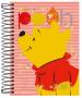 Caderno Espiral Capa Dura Universitário 16 Matérias Pooh - Tilibra