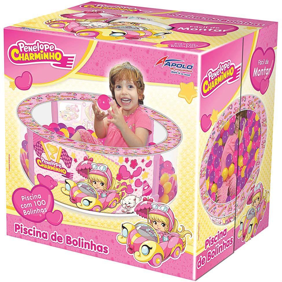 Piscina de Bolinhas Penélope Charminho – Apolo Brinquedos