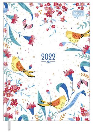 Agenda Costurada Diária Charme 2022 - Tilibra