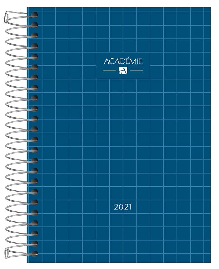 Agenda Espiral Diária Académie 2021 - Tilibra