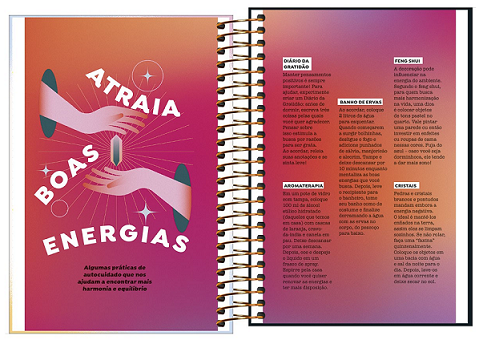 Agenda Espiral Diária Capricho 2022 - Tilibra