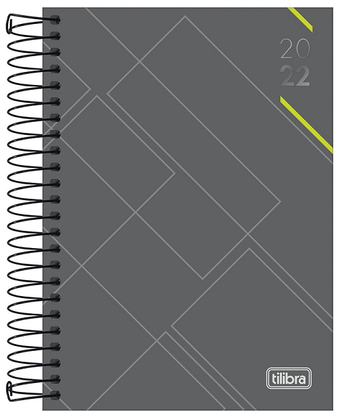 Agenda Espiral Diária Executiva Spot M5 2022 - Tilibra