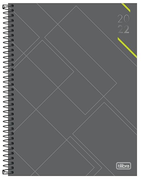 Agenda Espiral Diária Profissional Spot M9 2022 - Tilibra
