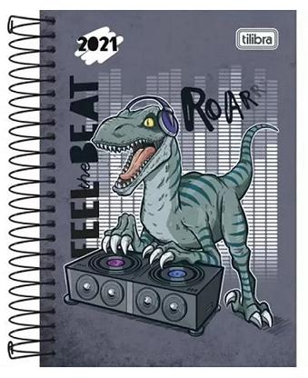 Agenda Espiral Diária Raptor 2021 - Tilibra