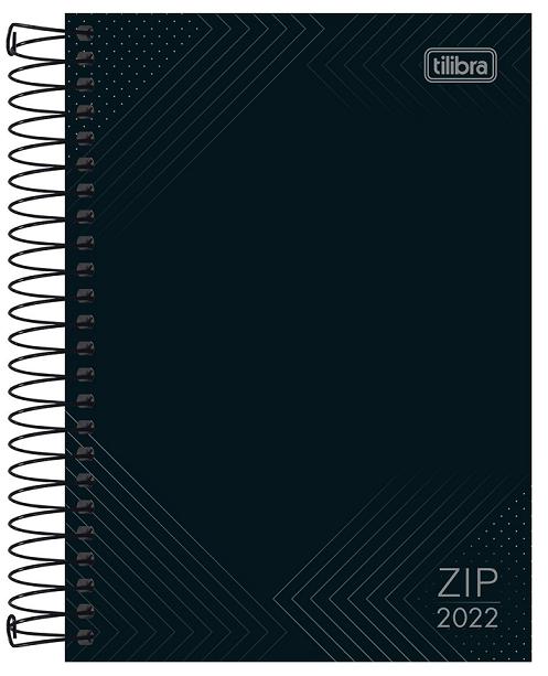 Agenda Espiral Diária Zip M5 2022 - Tilibra