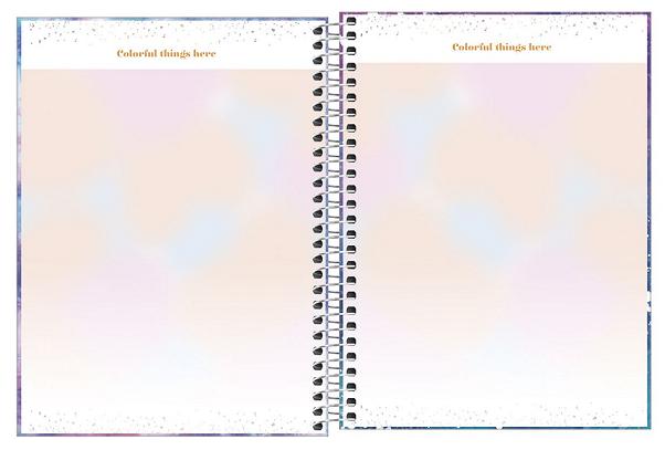 Agenda Espiral Planner Good Vibes 2022 - Tilibra