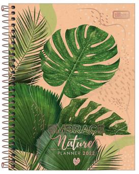 Agenda Espiral Planner Naturalis M7 2022 - Tilibra