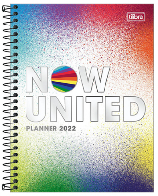 Agenda Espiral Planner Now United 2022 - Tilibra