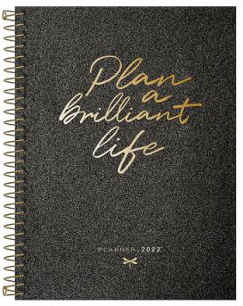 Agenda Espiral Planner Cambridge Shine M7 2022 - Tilibra