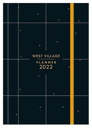 Agenda Costurada Planner West Village 2022 - Tilibra