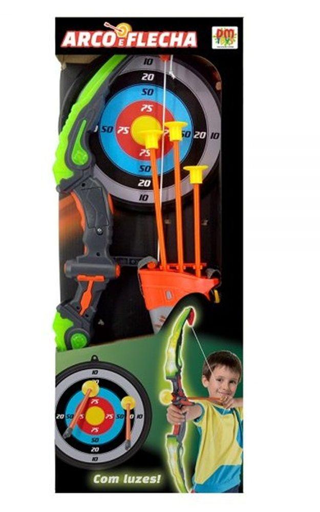 Arco e Flecha com Luz - Dm Toys