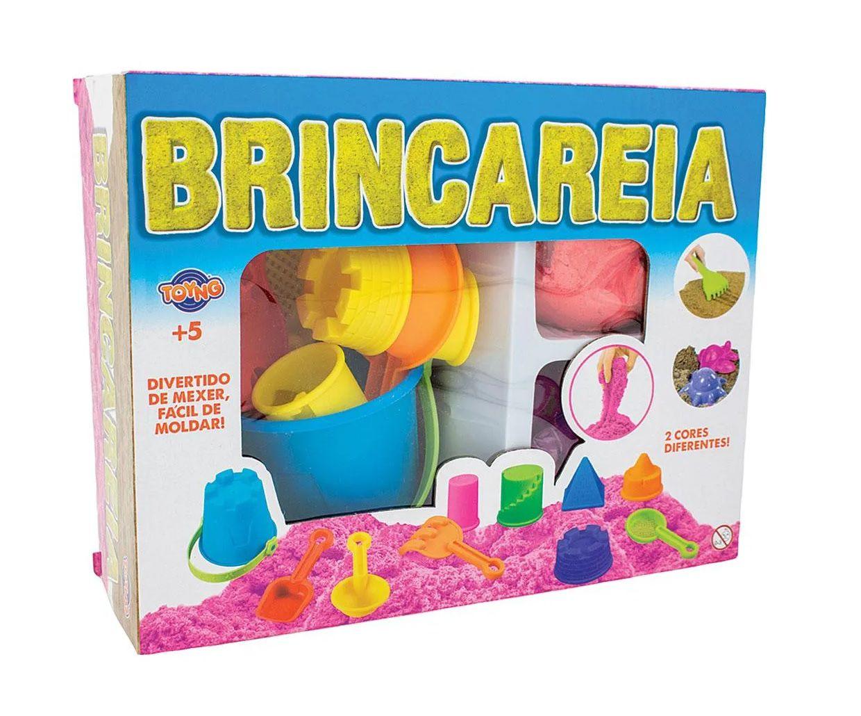 Areia de Modelar Brincareia com Acessórios Sortidos - Toyng