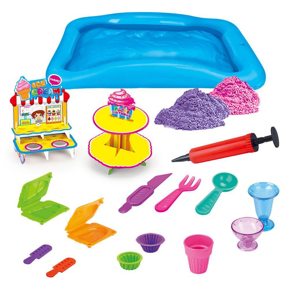 Areia Divertida Delicias - Dm Toys