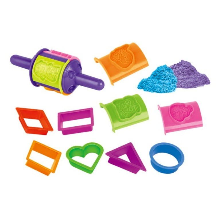 Areia Divertida Formas - Dm Toys