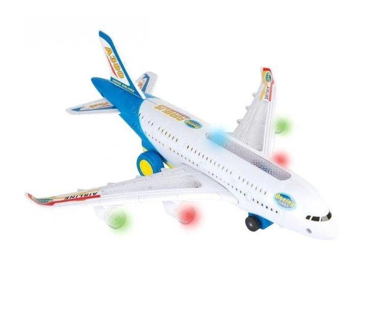 Avião Air Bus Super Jumbo com Luz e Som - Fenix Brinquedos