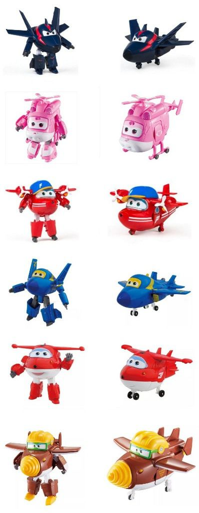 Avião Super Wings Transforming - FUN