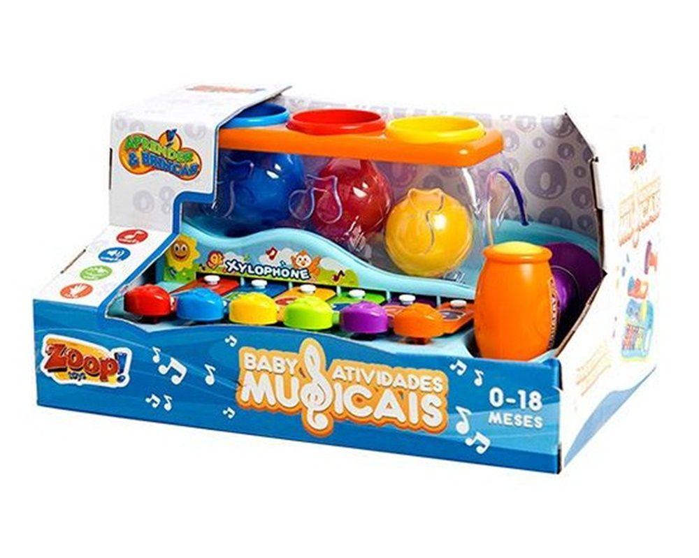 Baby Atividades Musicais - Zoop Toys