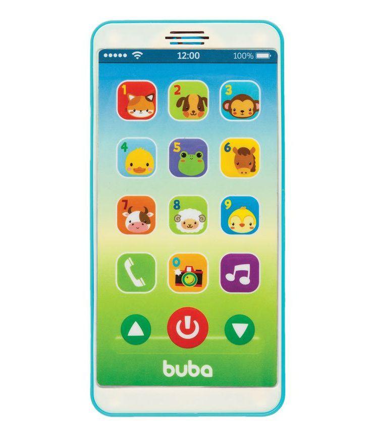 Baby Phone com Som Azul - Buba