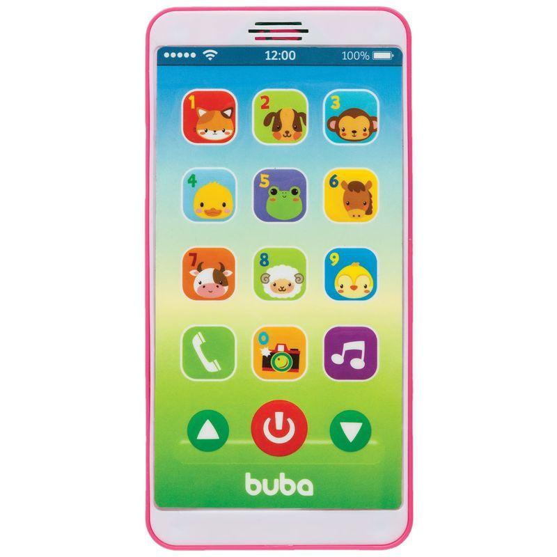 Baby Phone com Som Rosa - Buba