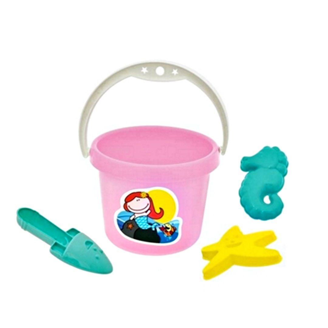 Baldinho Sereia Coleção Pitica - Tilin Brinquedos