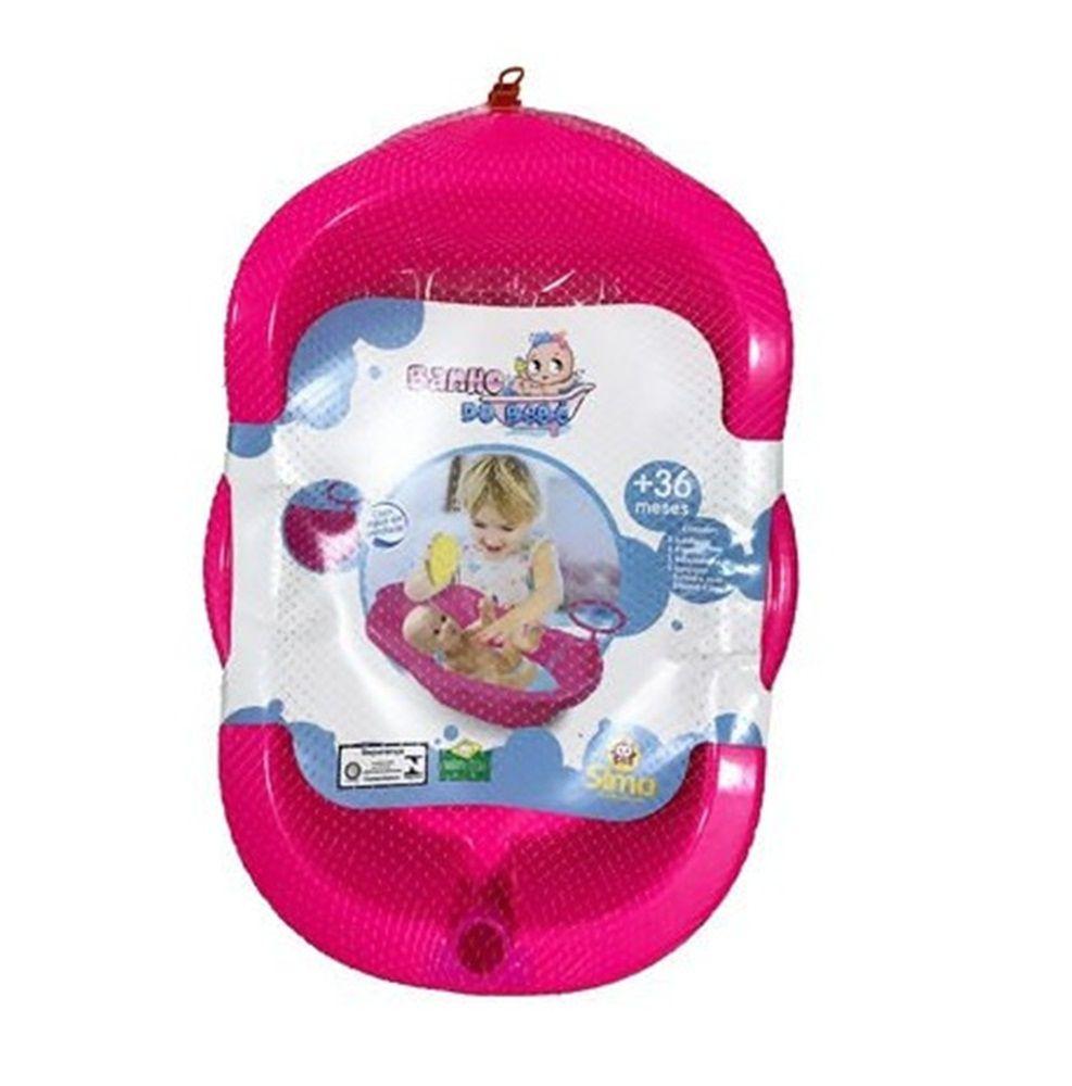Banheira de Boneca Banho do Bebê - Simo Toys
