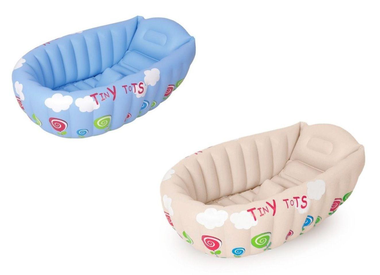 Banheira Inflável Bebê com Termômetro - MOR