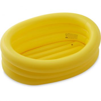 Banheira Inflável Oval 55 Litros Amarela - MOR