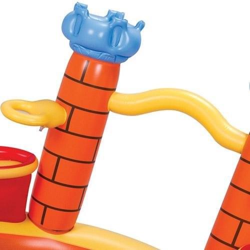 Banheira Inflável Playground Castelo 170 Litros - MOR