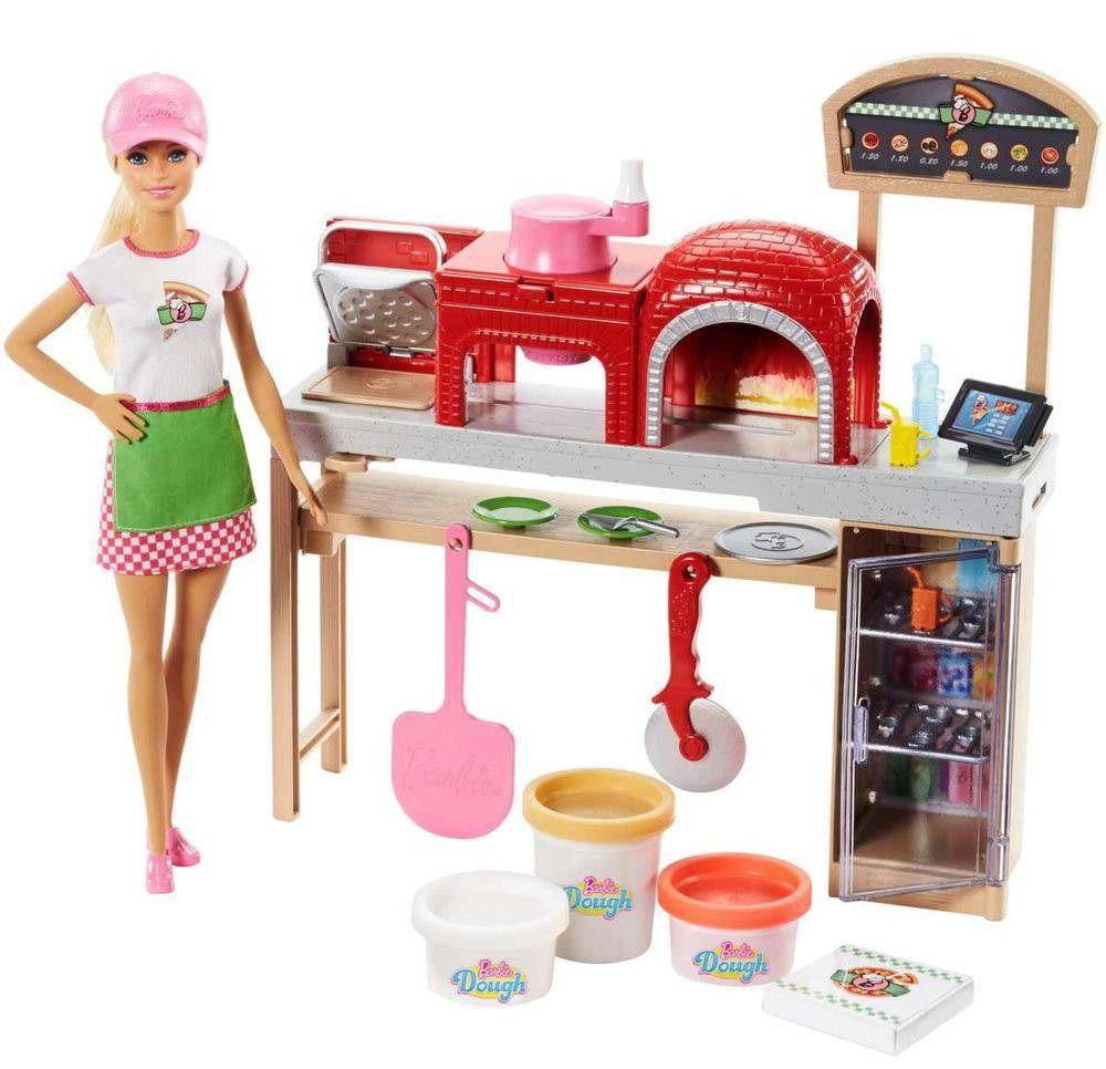 Boneca Barbie Pizzaiola - Mattel