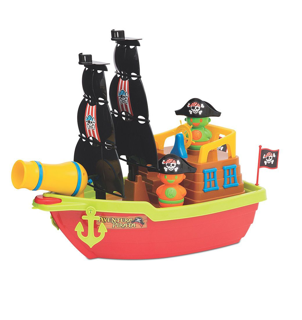 Barco Aventura Pirata Sortidos - Mercotoys Brinquedos