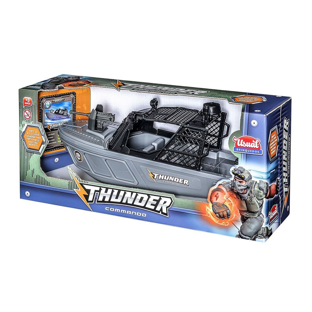 Barco Thunder Commando - Usual Brinquedos